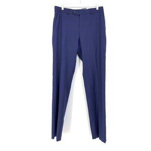 Tommy Hilfiger Sz 32 X 32 Tyler Suit Pants Blue